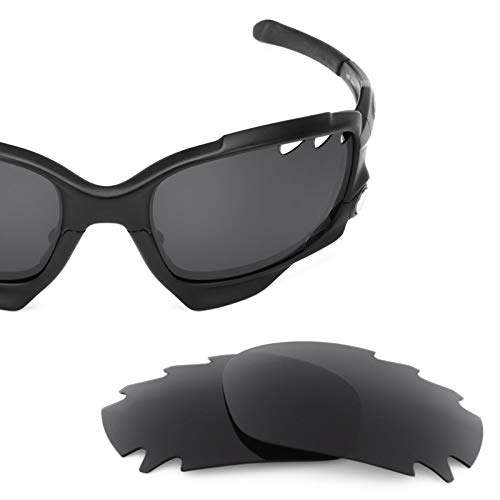 Jawbone Replacement - Revant Vented Polarized Replacement Lenses for Oakley Jawbone Elite Stealth Black