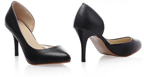 YCMDM Nuovo singolo SCARPE DONNA sandali degli alti talloni , black , 37