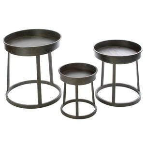 Stackable Metal Risers, Set of 3, Countertop by Retail Resource