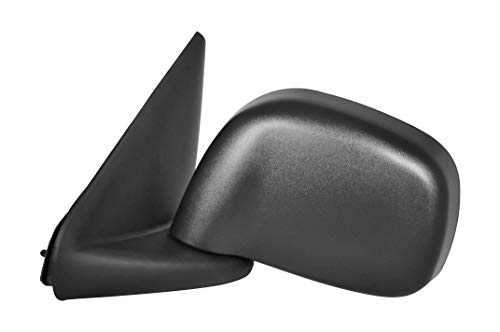 (Driver Side Textured Black Heated Mirror for 02-08 Dodge Ram 1500, 03-09 Ram 2500, 3500)