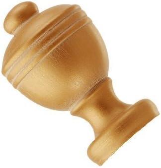 Integra 28 mm Wood Works Acorn Tringle /à rideau Finition ch/êne fonc/é