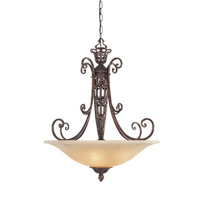 Designers Fountain 97531-BU Amherst 3 Light Inverted Pendant