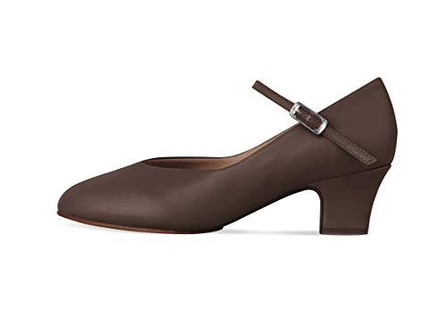 (Bloch Women's Broadway LO Dance Shoe, Cocoa, 6 Medium US)