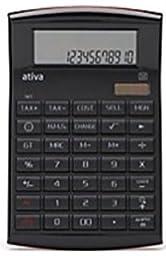 Ativa Premium Functions Executive 12-digit Calculator, Black