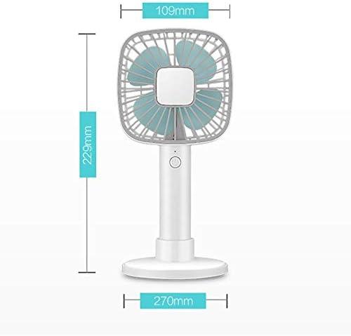 Lsxlsd Handheld Desktop Dual-use Fan USB Charging Mini Fan Portable Small Fan