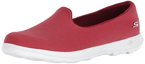 Skechers Performance Women's Go Walk Lite-15411 Loafer Flat,Red,9.5 M - Shop Red Go