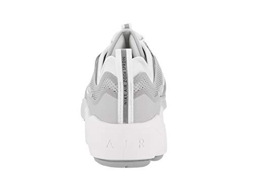 Nike White Zoom Spiridon Da Scarpe grey white Uomo Ultra wolf Ginnastica rZrpqAwn0d