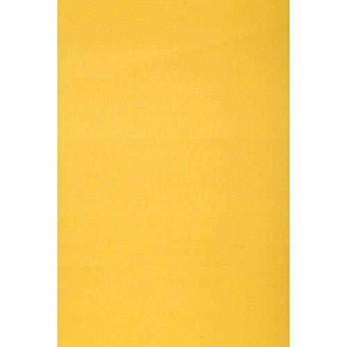 Bulk Buy: Darice DIY Crafts Stiff Felt Sheet Yellow 12 x 18 inches (5-Pack) FLT-0335