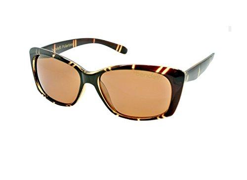 Bendetti McKenzie Elite Polarized | BROWN FRAME WITH COPPER POLARIZED - Maui Like Jim Sunglasses