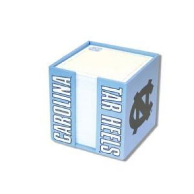 Fanatic Cards North Carolina Tar Heels Cube Note Card Holder