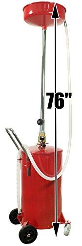 Dragway Tools 18 Gallon Oil Waste Drain Tank Pan for Lift Jack Hoist Shop Crane by Dragway Tools (Image #2)