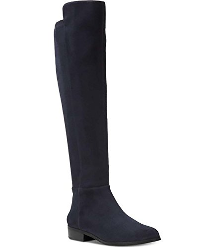 - MICHAEL Michael Kors Woman's Bromley Flat Boots Suede Admiral, 6.5 M