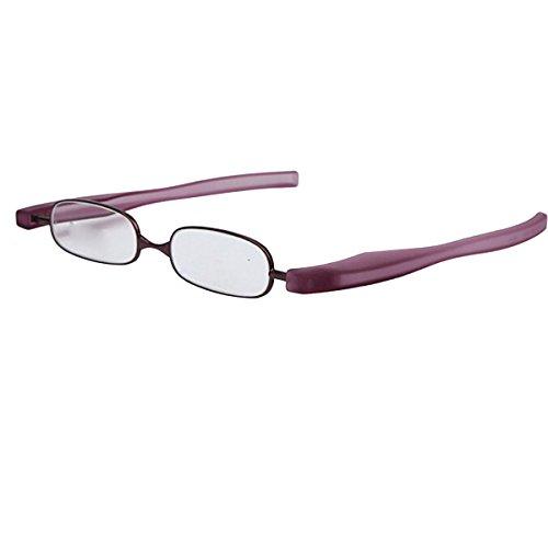 Lentes Leer RoseGold Viejas Las Gafas De RoseGold De Flores Para Como Sencillo Rotación Gafas Lectura Grados 360 ZOBnzz