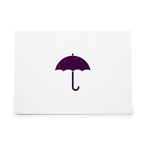 Umbrella Weather Sunshade Shade Rihanna Style 5439, Rubber Stamp Shape great for Scrapbooking, Crafts, Card Making, Ink Stamping Crafts (Style Rihanna)