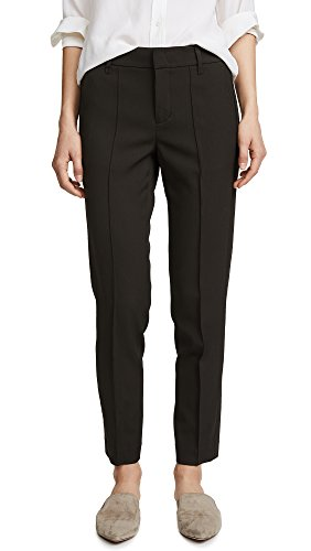 Vince Women's Stitch Front Strapping Pant, Olive, 0 by Vince