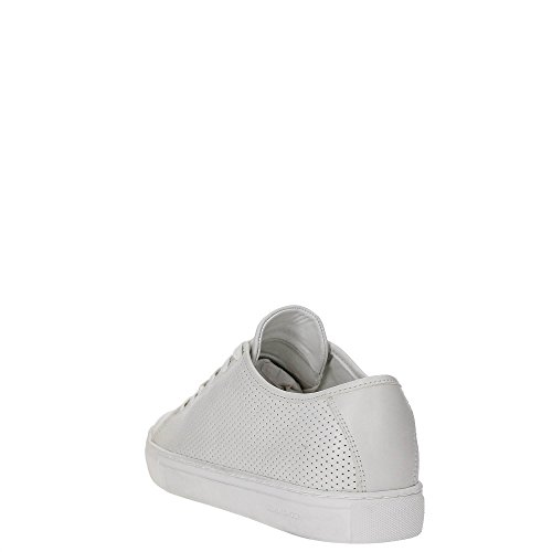 Crime London 11281S17B Sneakers Hombre BIANCO 44