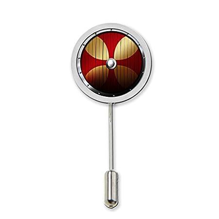 Diseño en forma de cúpula Viking prendedor Pin Protector puede ser ...