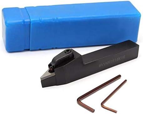 Qualitäts-CNC-Drehmaschine Werkzeug-Zubehör Lathe Externe Drehwerkzeughalter for VNMG1604 Klingen 16x100mm MVVNN1616H16