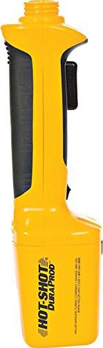 Miller 957775 Hot Shot DuraProd Livestock Prod, Yellow/Black by Miller