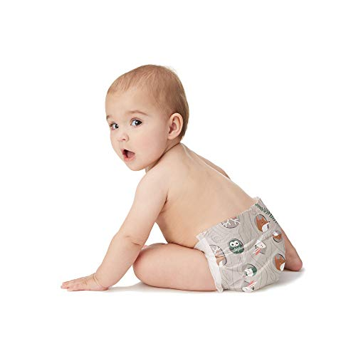 The Honest Company Baby Diapers with TrueAbsorb Technology, Tree Houses, Size 2, 128 Count