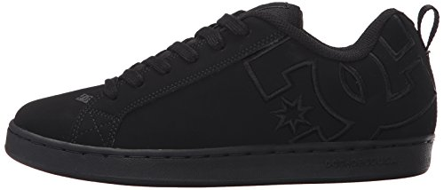 Pictures of DC Kids Youth Court Graffik Skate Shoes Black/Black/Black 5