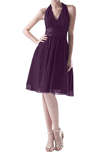 Missdressy - Vestido - plisado - para mujer morado 42