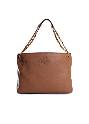 Tory Burch McGraw Chain Slouchy Tote in - Bag Tory Burch Gold