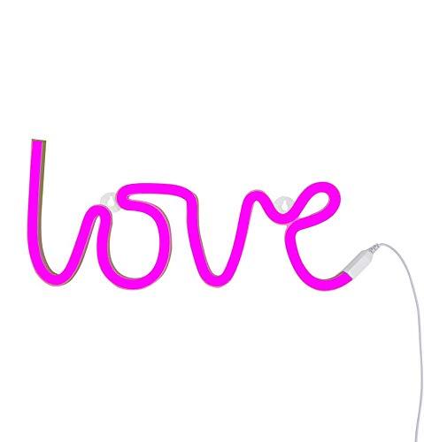 Lampe Néon Rose Love - A Little Lovely Company