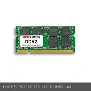 DMS Compatible/Replacement for Dell 370-13748 Workgroup Laser Printer 5330dn 512MB DMS Certified Memory 200 Pin DDR2-667 PC2-5300 64x64 CL5 1.8V SODIMM - DMS