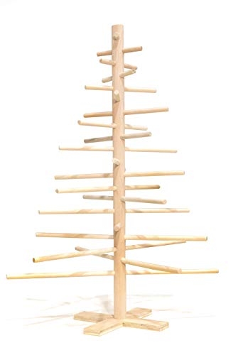 2 foot simple wood dowel Christmas tree
