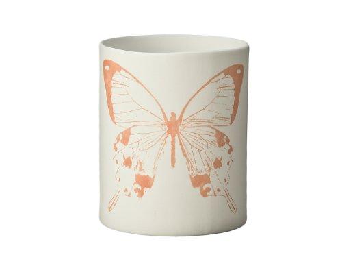 KOUBOO Butterfly Porcelain Votive Candle Holder, Print in...