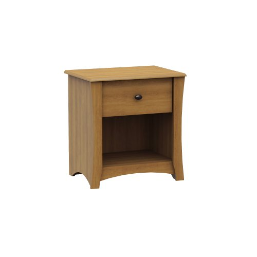 Maple Night Table (South Shore Jumper Collection Nightstand, Harvest)