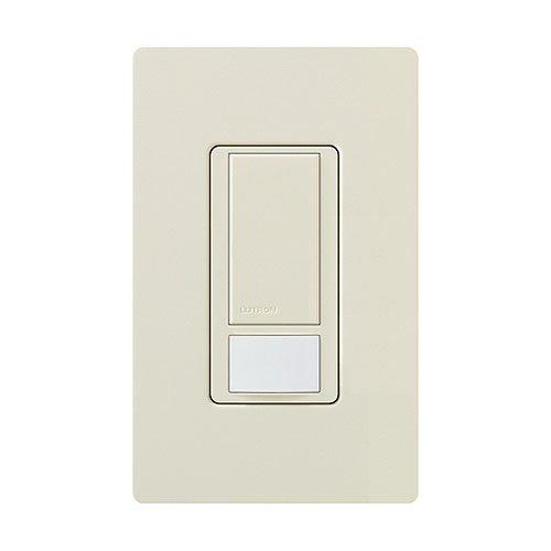 Lutron Electronics MS-VPS5MH-LA Maestro Large Room Vacancy, Sensor Switch, Light Almond