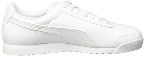 light white Roma Puma Gray Blanco Zapatillas Unisex Adulto Basic nZ7wfOq0