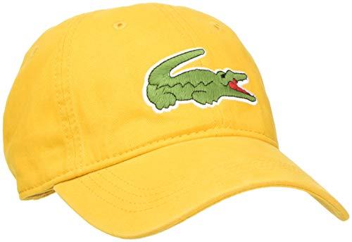 Lacoste, Gorra de béisbol para Hombre Naranja (Pomelo El7)
