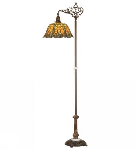 1-Light Duffner and Kimberly Shell Floor Lamp