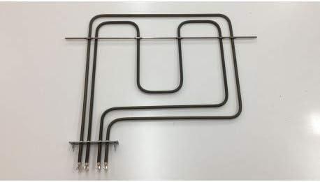 3140303 230 V C.O 1100 W Ersatzteile DREYMA Heizelement//Grill f/ür Backofen TEKA 1500