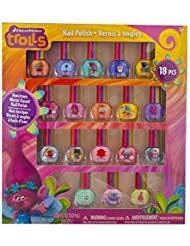 Townley DreamWorks Trolls - Esmalte de uñas no tóxico, Juego de Lujo para niños, Algunos con Purpurina (18)