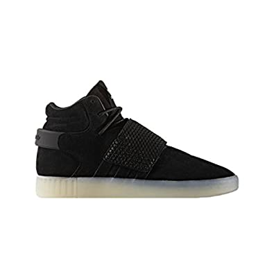 low priced 05476 cec59 adidas Originals Tubular Invader Sangle Bb5036 Bleu Sneaker Schuhe  Chaussures pour Homme - Blanc - Black