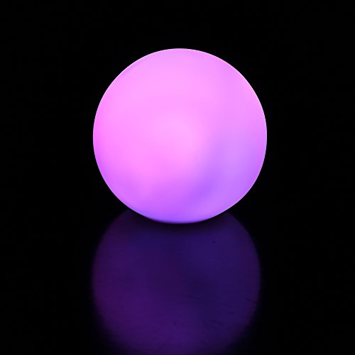 Fun Central I532 LED Light Up Color-Morphing Ball Mood Light - 3 Inch -