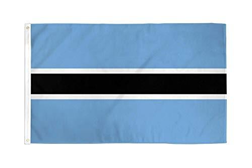 - im rizki Flag 3x5 Botswana Country Banner New Indoor Outdoor