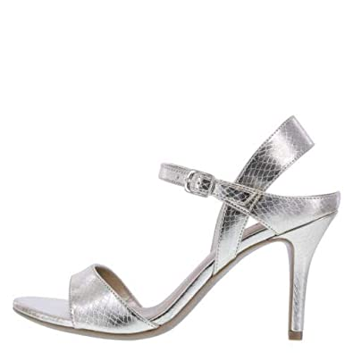 581c3b5df7b Amazon.com | Fioni Women's Misfit Exotic High Sandal | Sandals