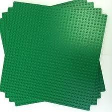 LEGO Green Builder Base Plate 626 (10 x 10) 3 units by LEGO