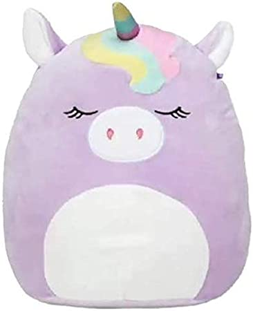 Inches Valentine and Anytime Gift Holiday Super Soft Plush Toy Animal Pillow Pal Pillow Buddy Stuffed Animal Birthday Squishmallow Kellytoy 5 Silvia The Purple Unicorn