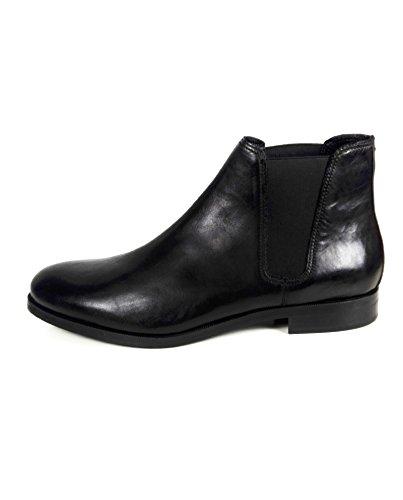 Zara Hommes En Cuir Noir Bottines 2000/302