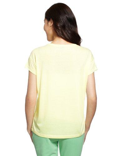 Adidas Originals Frauen PB Logo T-Shirt (gelb)