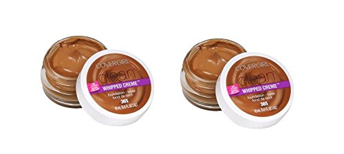 CoverGirl Clean Whipped Creme Foundation #365 Tawny 2 Pack Set
