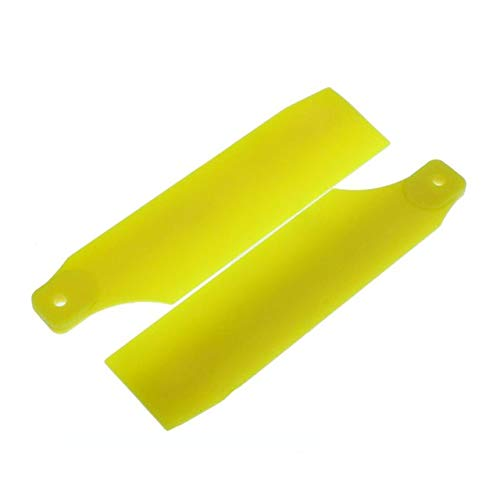 (Accessories Tarot 450 Plastic Tail Rotor Blades for Trex 450 RC Helicopter - (Color: Yellow))