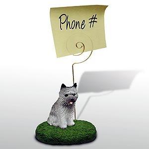 Cairn Terrier Note Holder (Gray) ()