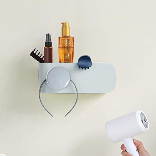 Hair Dryer Holder,Hair Care Hanging Rack Organizer,Storage Shelf for Dyson Supersonic and all hairdryer,Flat Irons,combs, perfumes, masks, etc.